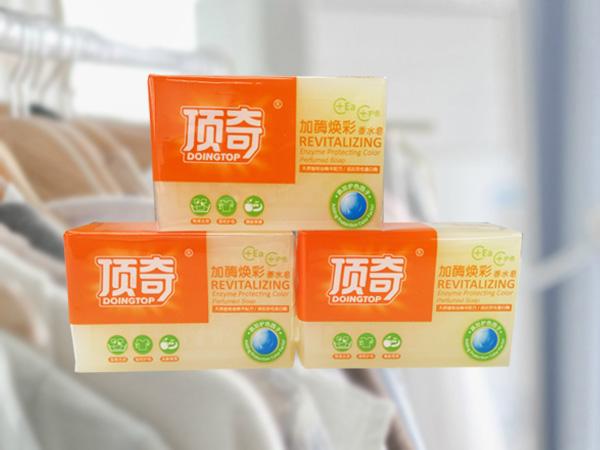 顶奇-加酶焕彩香水皂
